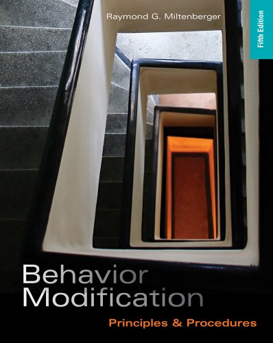 Behavior Modification Principles and Procedures 5th 2012 9781111306113 Front Cover