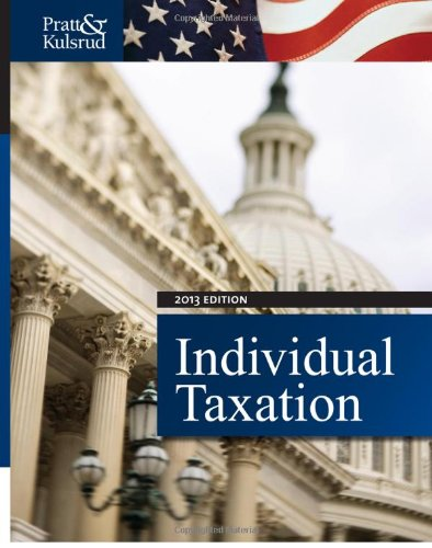 Individual Taxation 2013  7th 2013 9781133496113 Front Cover