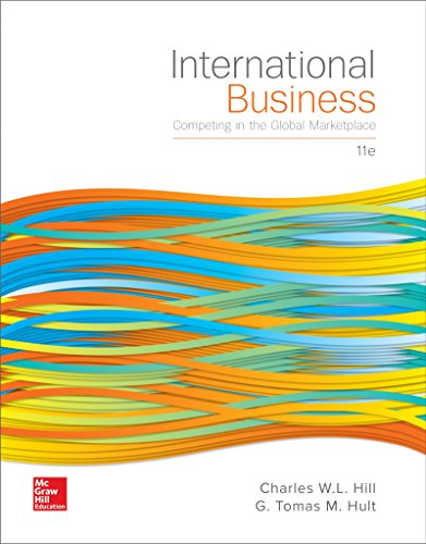 International Business: Competing in the Global Marketplace 11th 2016 9781259578113 Front Cover