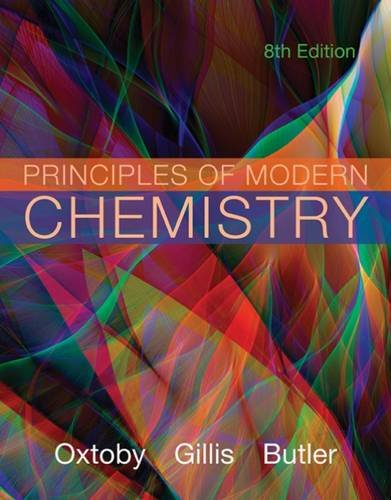 Principles of Modern Chemistry:   2015 edition cover