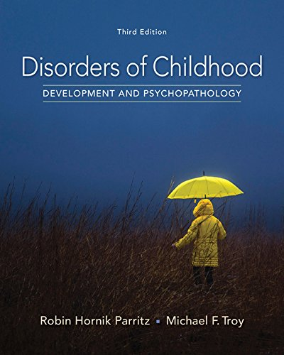 Disorders of Childhood: Development and Psychopathology  2017 9781337098113 Front Cover