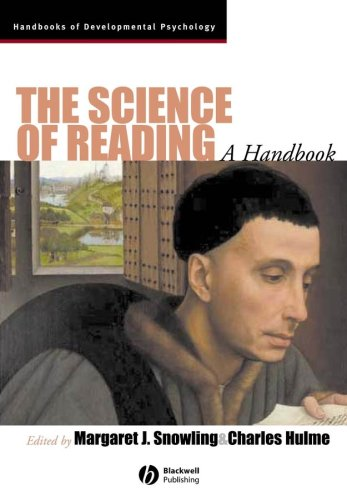 Science of Reading A Handbook  2007 edition cover