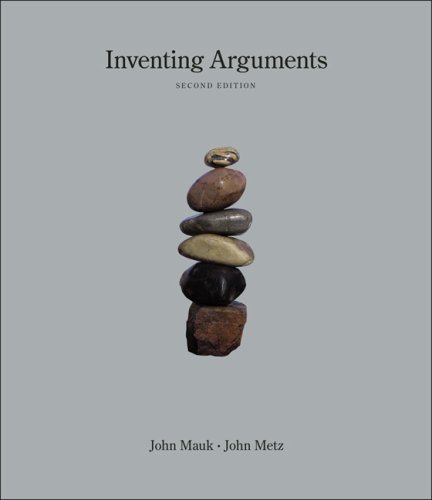 Inventing Arguments  2nd 2009 (Revised) 9781413033113 Front Cover