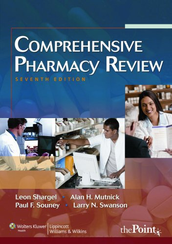 Comprehensive Pharmacy Review  7th 2009 (Revised) 9781582557113 Front Cover