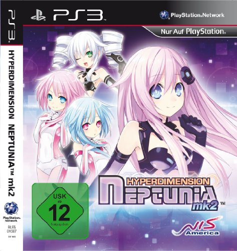 Hyperdimension Neptunia MK2 PlayStation 3 artwork