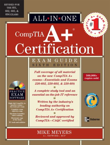A+ Certification  6th 2007 (Revised) edition cover