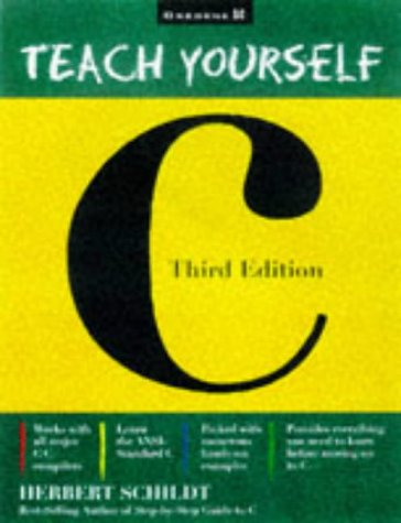 Teach Yourself C  3rd 1997 (Revised) edition cover