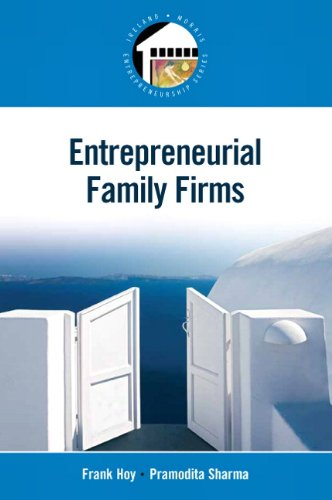 Entrepreneurial Family Firms   2010 edition cover