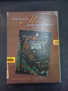 HIST.OF MUSIC IN WEST...:V.1-6 2nd 2006 9780131931114 Front Cover