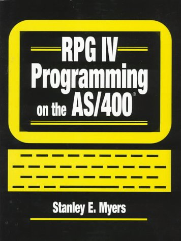 RPG IV Programming on the AS/400   1998 9780134604114 Front Cover