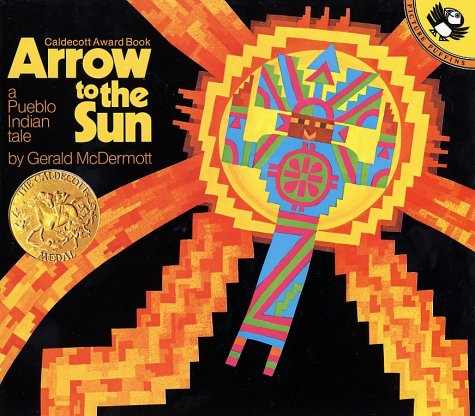 Arrow to the Sun A Pueblo Indian Tale  1977 edition cover