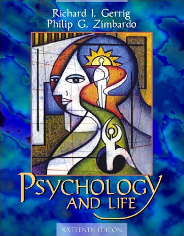 Psychology and Life  16th 2002 (Student Manual, Study Guide, etc.) edition cover