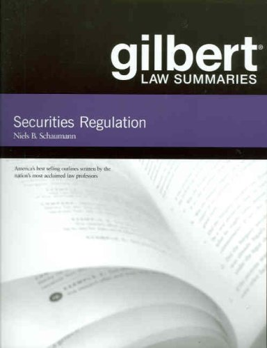 Securities Regulation  7th 2007 (Revised) edition cover