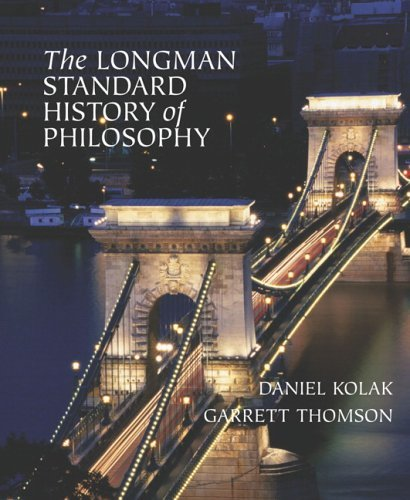 Longman Standard History of Philosophy   2006 edition cover