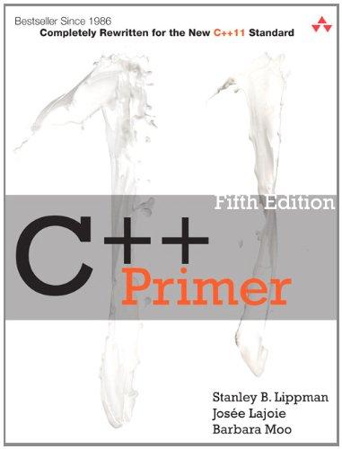 C++ Primer  5th 2013 edition cover