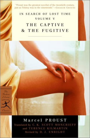 In Search of Lost Time The Captive and the Fugitive  1999 edition cover