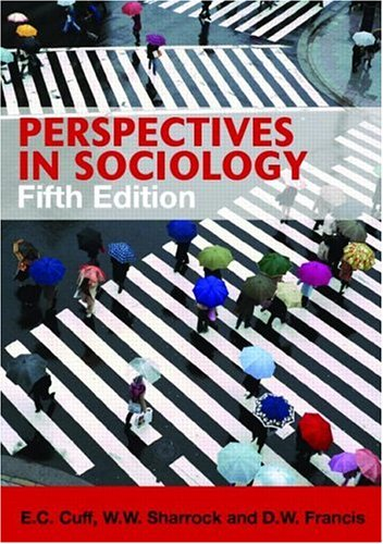 Perspectives in Sociology  5th 2006 (Revised) edition cover