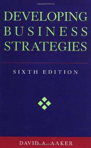 Developing Business Strategies  6th 2001 (Revised) 9780471064114 Front Cover