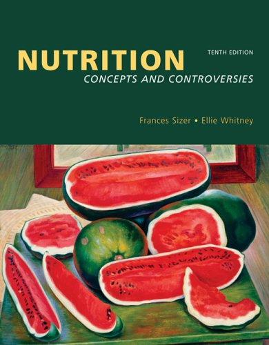 Nutrition Concepts and Controversies (Pyramid Update with Nutrition Connections CD-ROM and InfoTrac) 10th 2006 edition cover