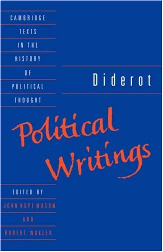 Diderot Political Writings  1992 edition cover