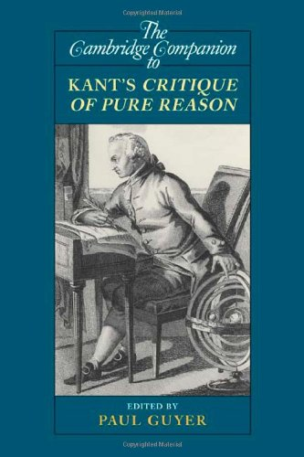 Cambridge Companion to Kant's Critique of Pure Reason   2010 9780521710114 Front Cover