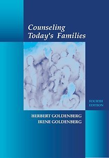 Counseling Today's Families  4th 2002 (Revised) edition cover