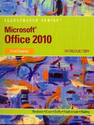 Microsoft Office 2010 Illustrated Introductory  2011 edition cover