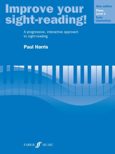 Improve Your Sight-Reading! Piano Level 1 / Early Elementary  1998 edition cover