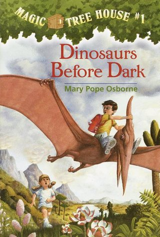Dinosaurs Before Dark  N/A 9780679824114 Front Cover