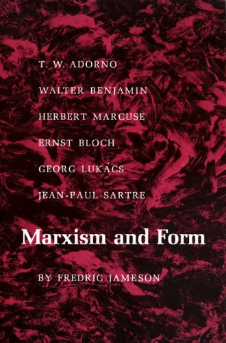 Marxism and Form 20th-Century Dialectical Theories of Literature  1974 edition cover