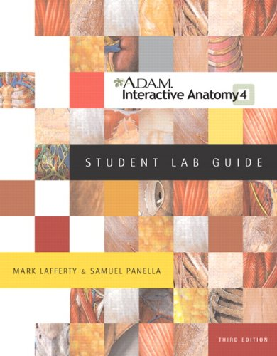 A. D. A. M. (R) Interactive Anatomy  3rd 2005 (Student Manual, Study Guide, etc.) 9780805359114 Front Cover