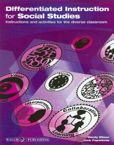 Differentiated Instruction for Social Studies Instructions and Activities for the Diverse Classroom  2006 edition cover