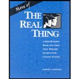 MORE OF THE REAL THING 1st edition cover