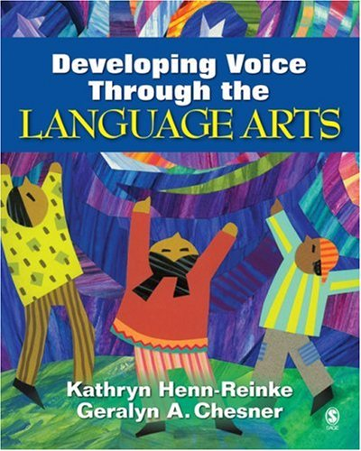 Developing Voice Through the Language Arts   2007 edition cover