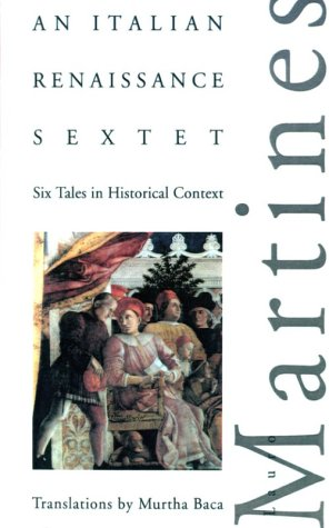 Italian Renaissance Sextet Six Tales in Historical Context N/A edition cover