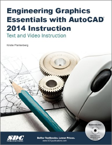 Engineering Graphics Essentials With Autocad 2014 Instruction:   2013 edition cover
