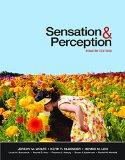 Sensation and Perception  4th 2014 edition cover