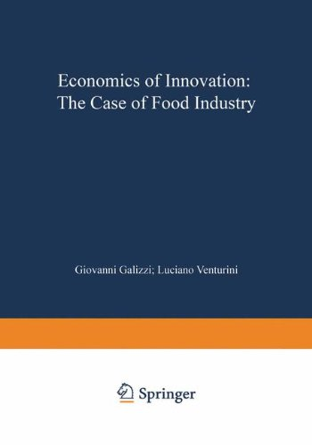 Economics of Innovation The Case of Food Industry  1996 9783790809114 Front Cover