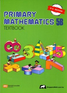 Primary Mathematics 5B Textbook  N/A edition cover
