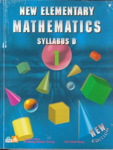 New Elementary Mathematics Syllabus d (New Elementary Mathematics, 1)  N/A edition cover