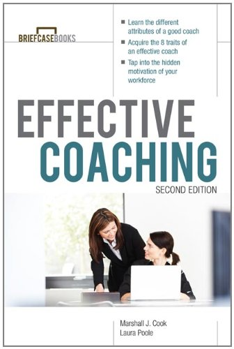 Effective Coaching  2nd 2012 edition cover