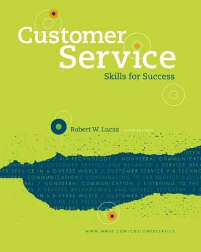 Customer Service Skills for Success  5th 2012 edition cover