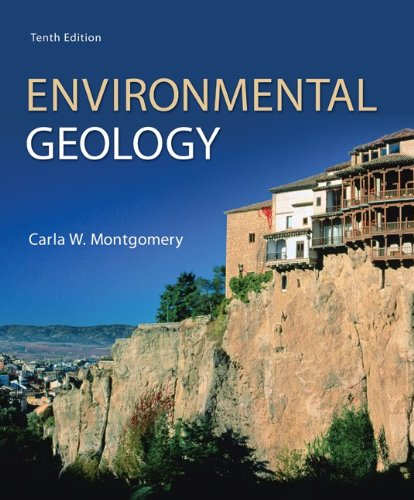 Environmental Geology  10th 2014 edition cover