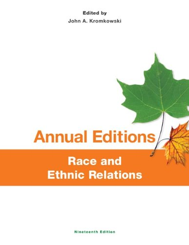 Annual Editions Race and Ethnic Relations 13/14:   2012 edition cover