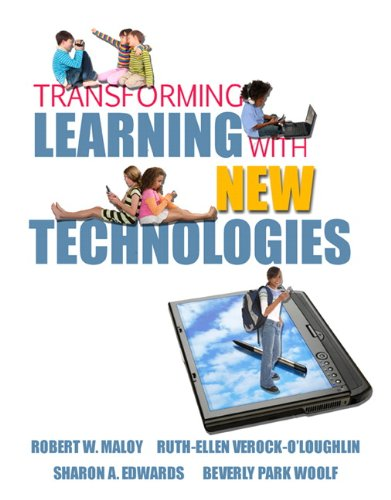 Transforming Learning with New Technologies   2011 9780131596115 Front Cover