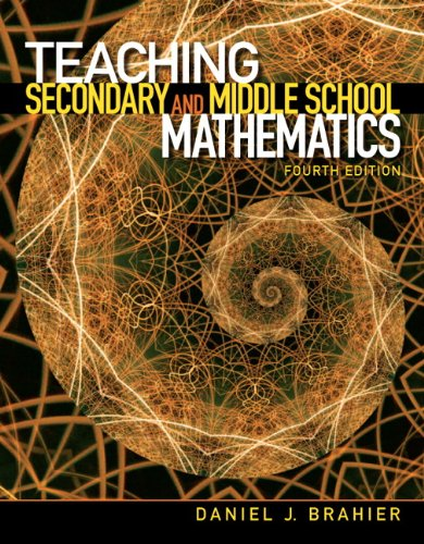 Teaching Secondary and Middle School Mathematics  4th 2013 (Revised) edition cover