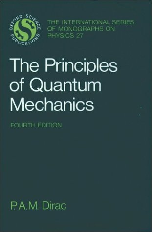 Principles of Quantum Mechanics  4th 1967 (Revised) 9780198520115 Front Cover
