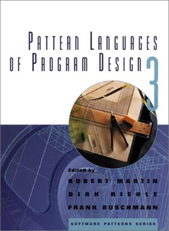 Pattern Languages of Program Design   1998 edition cover