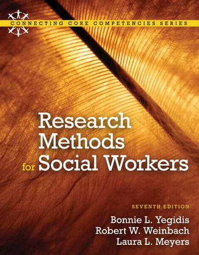 Research Methods for Social Workers  7th 2012 edition cover