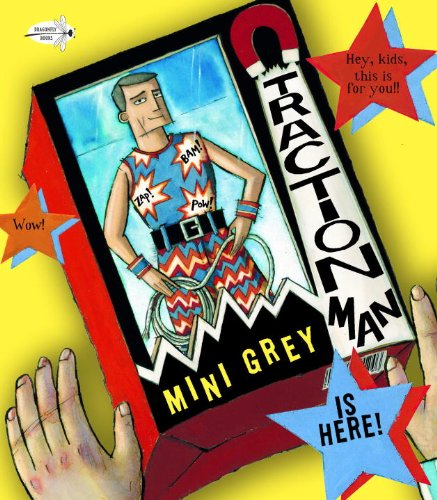 Traction Man Is Here!   2012 edition cover